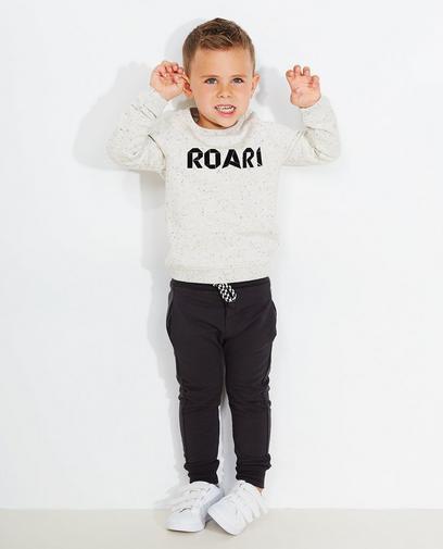 Gespikkelde sweater